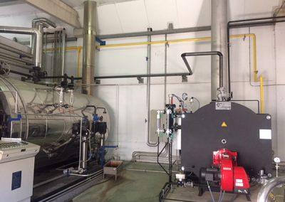 Instalación de gas y caldera - Pesasur