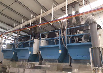 Instalación de secadoras industriales a gas  - Indusal (Escacena del Campo)